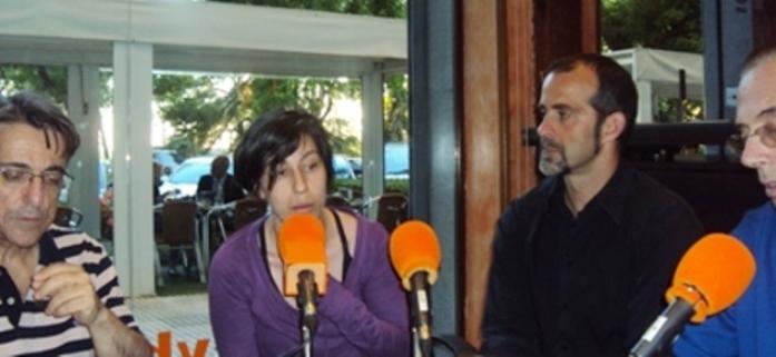 De izquierda a derecha, Javier Martínez, Patricia Horrillo, David Bollero y Jesús Riosalido