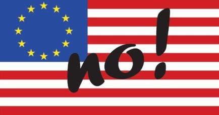 NO al Tratado de Libre Comercio e Inversiones de Estados Unidos-UE