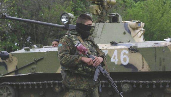 Militares ucranianos en Kramatorsk. Foto RIA Novosti