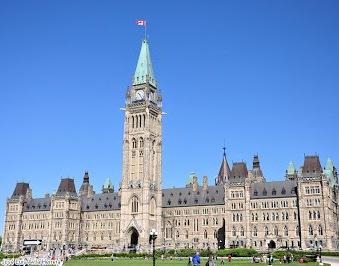 Parlamento de Canadá en Otawa