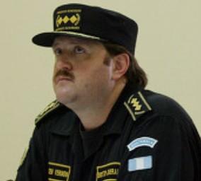 Erwin Sperisen, ex jefe de la Policiá Nacional Civil de Guatemala