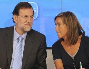 Mariano Rajoy y Ana Mato