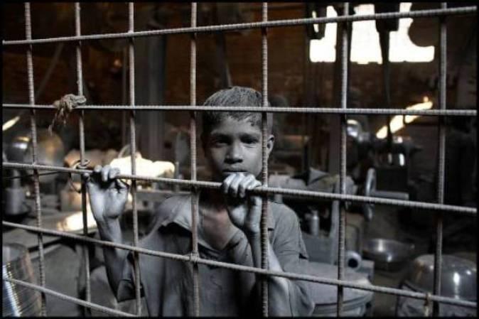 Niños esclavos