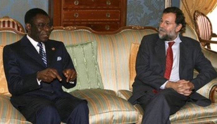 Obiang y Rajoy