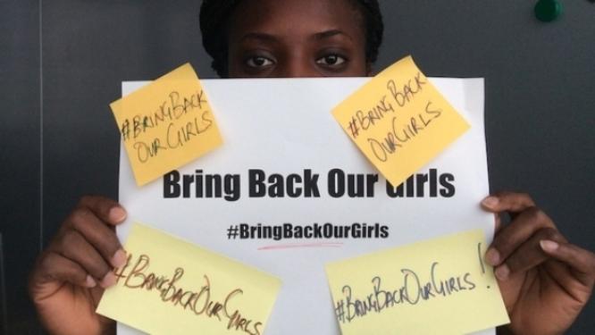 Petición para salvar niñas  secuestradas en Nigeria
