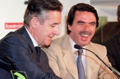 Miguel Blesa y José María Aznar