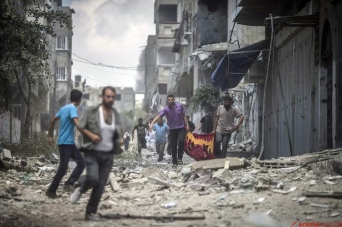 Escuela de la ONU en Gaza atacada por el Ejército de Israel