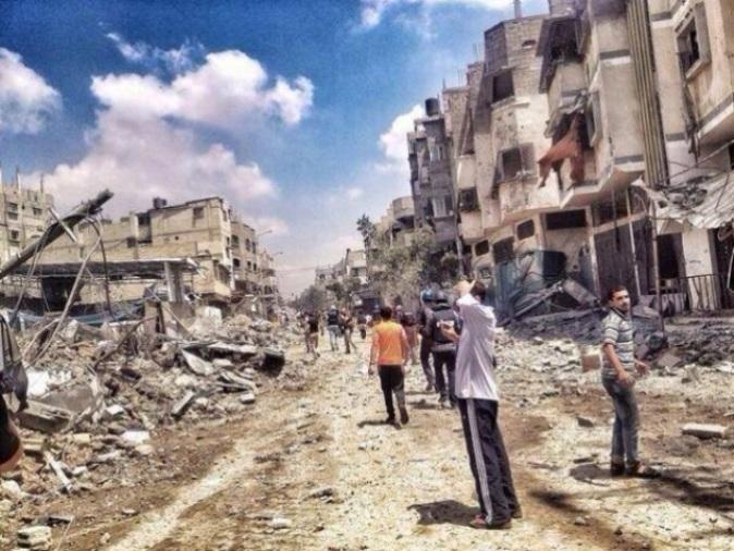 Israel destruye Gaza