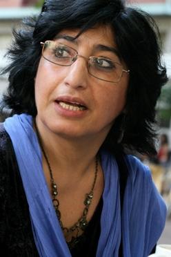 Nazanín Armanian: Foto de Julio Sánchez García