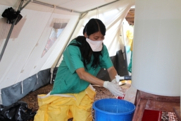 Ébola (Foto de MSF).