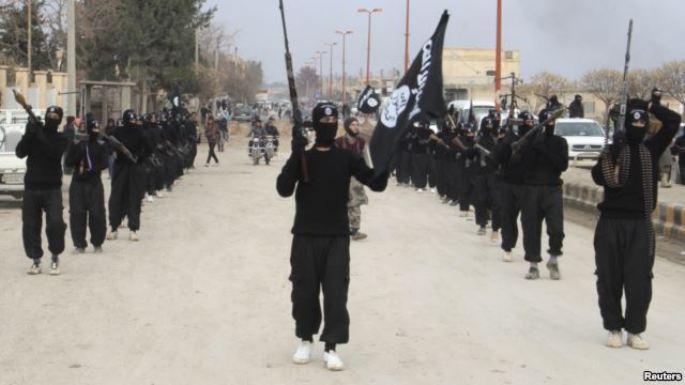 Milicias del Ejército Islámico de Irak y el Levante (Foto La Voz de América)