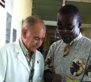 Miguel Pajares y George Combey, ambos fallecidos a causa del Ébola