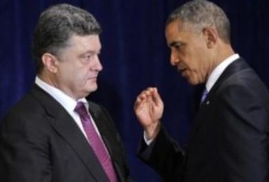 Petro Poroshenko y Barack Obama