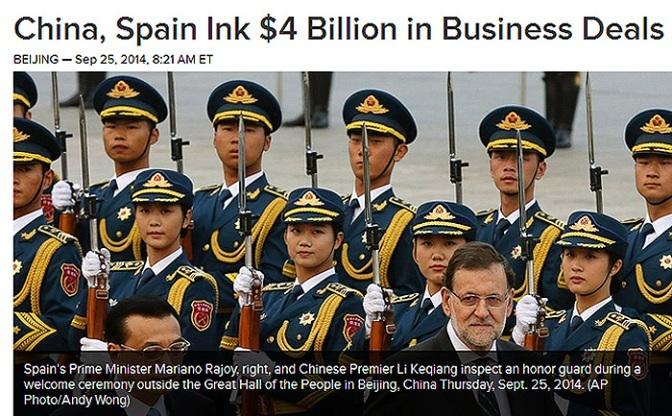 Visita oficial del presidente del Gobierno de España a China : Foto CBS NEWS.