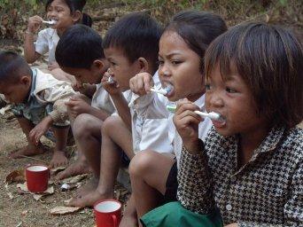 Niños Camboyanos