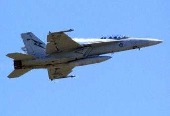 Avión australiano  Super Hornet