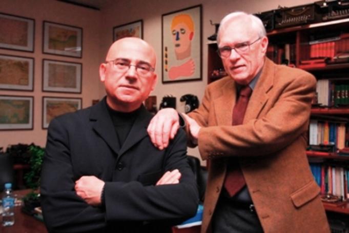 Jesús Palacios y Stanley Payne