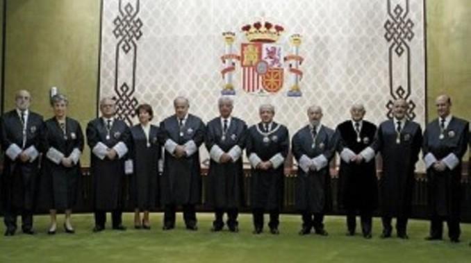 Miembros del Tribunal Constitucional (2014).