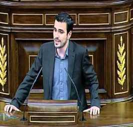 Diputado Alberto Garzón