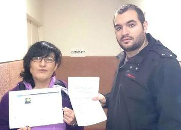Yolanda Rodríguez y Juan Pretel Molina, concejales de IU en Galapagar