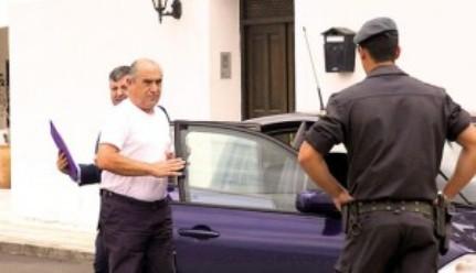 El senador Dimas Martín, a punto de emprender un viaje… a la cárcel de Lanzarote