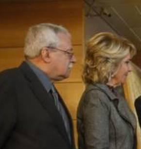 Dos ex: Joaquín Leguina y Esperanza Aguirre