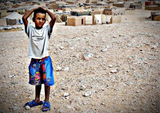 Niño Saharaui: fotografía de autor desconocido.