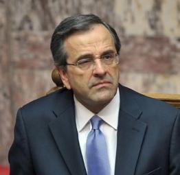 Primer Ministro griego, Antonis Samaras
