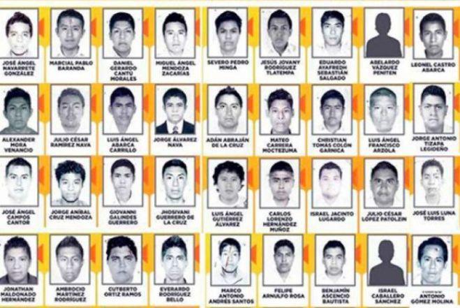 Estudiantes mexicanos asesinados