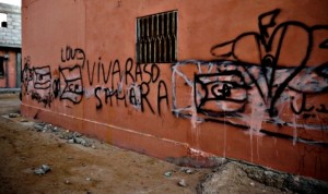 Barrio saharaui de Luifak, El Aaiún, Sahara Occidental (SCSC)