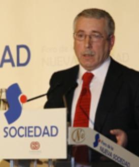 Fernández Toxo, secretario general de CC. OO.