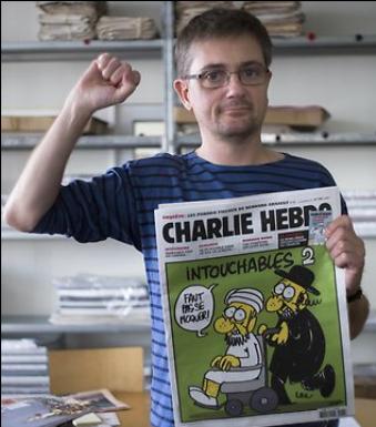 Stéphane Charbonnier,  director semanario satírico Charlie Hebdo,