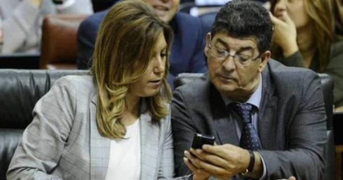 Susana Díaz  y Diego  Valderas: Foto Diaio de Córdoba.