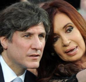 Amado Boudou y Cristina Fernández de Kirchner