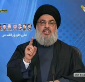 Hassan Nasrallah, líder movimiento shiita libanés