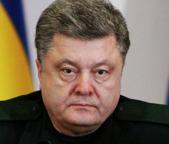 Presidente de Ucrania, Petro Poroshenko.