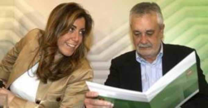 Susana Díaz y Antonio Griñán, Presidenta y ex Presidente de la Junta de Andalucía