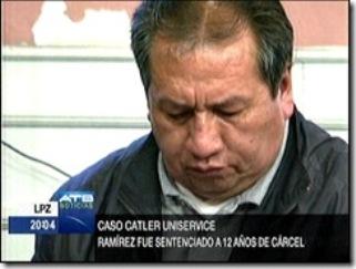 Santos Ramírez, condenado a 12 años de prisión