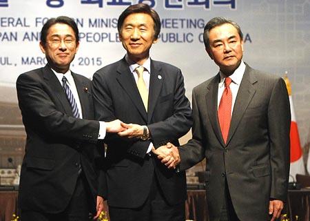 China, República de Corea y Japón