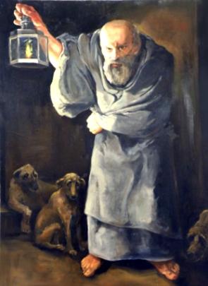 El filósofo Diógenes