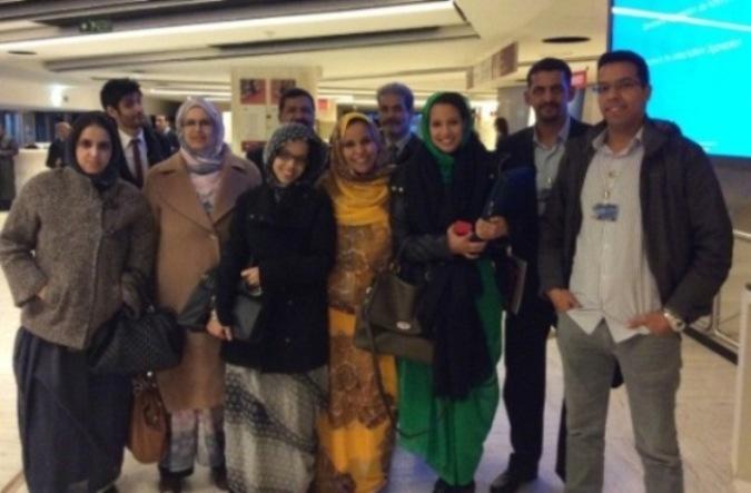 Representación saharaui en la 28ª Sesión del Consejo de los DDHH de Naciones Unidas