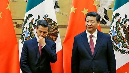 China molesta con el gobierno de Peña Nieto