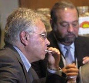 Felipe González y Carlos Slim