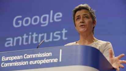 Margrethe Vestager, Comisaria de Competencia de la UE.