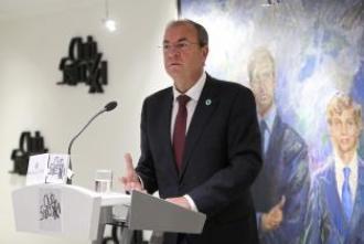 José Antonio Morago en el Club Siglo XXI