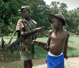 Niños-soldado. Foto: Ciudadanos del Mundo.