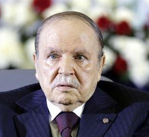 Presidente de Argelia, Abdelaziz Buteflika.