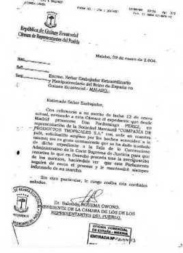 Escrito del Consejo General del Poder Judicial