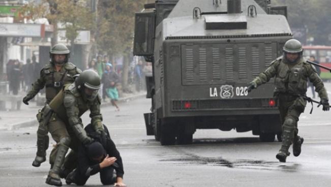 Chile: dos estudiantes muertos en las manifestaciones. Foto:  cronista.com.