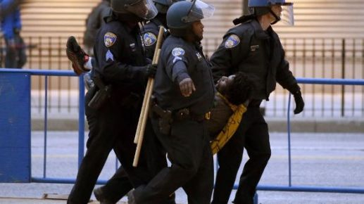 Protestas por la muerte de Freddie Gray